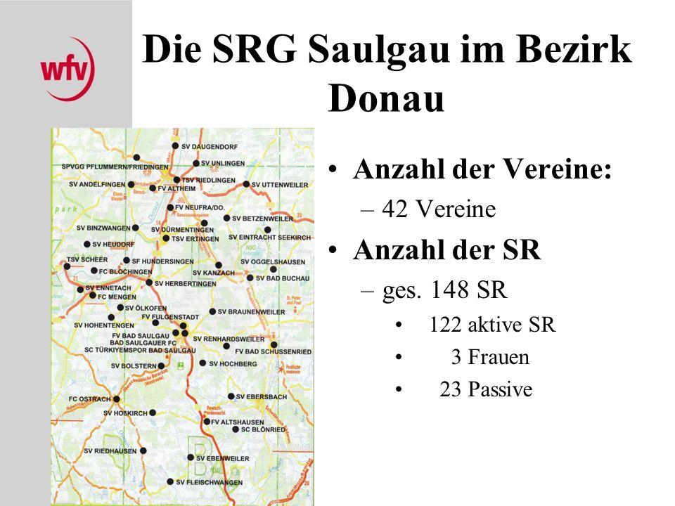 Die SRG Saulgau im Bezirk Donau