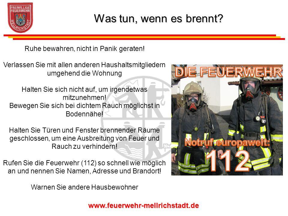 112 DIE FEUERWEHR Was tun, wenn es brennt Notruf europaweit: