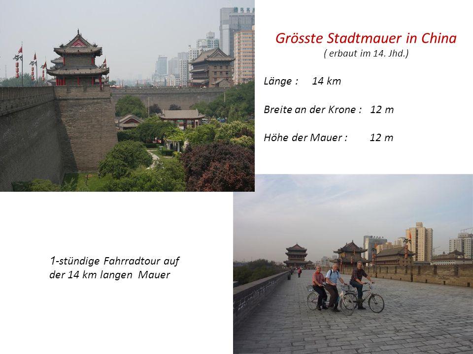 Grösste Stadtmauer in China