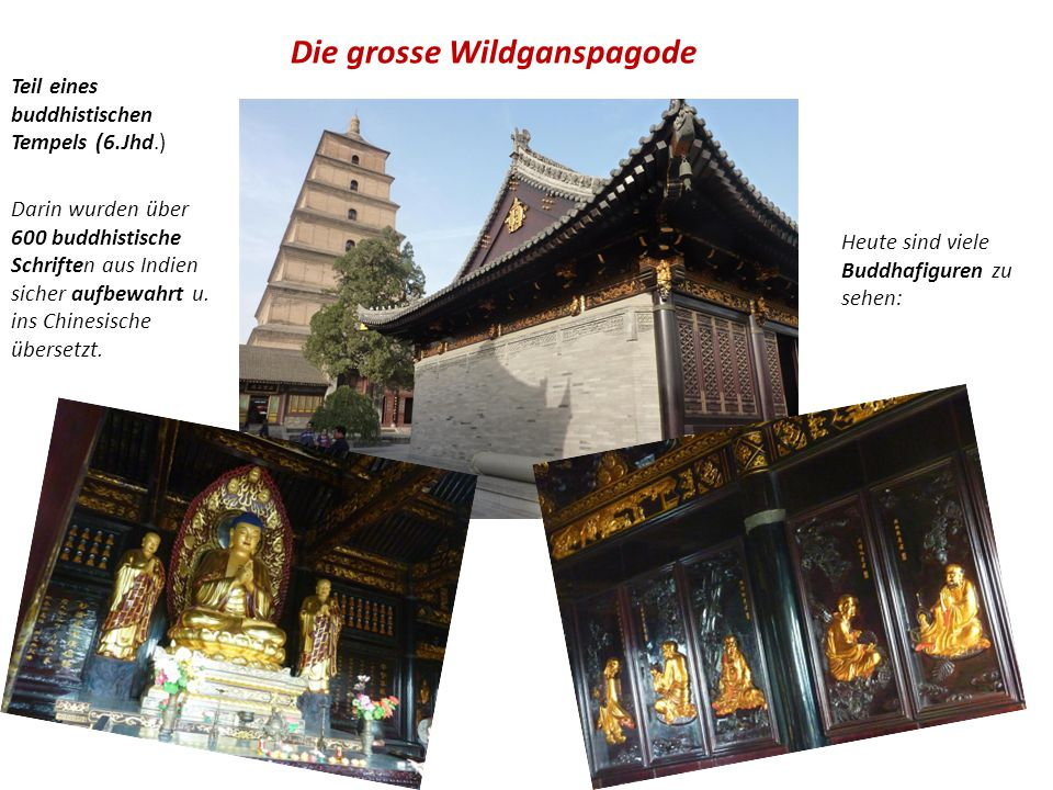 Die grosse Wildganspagode