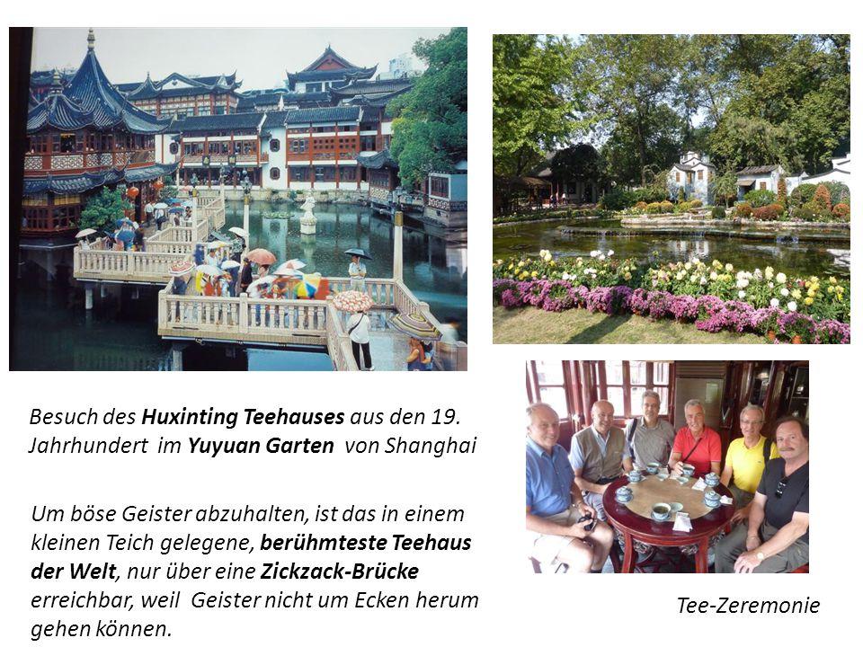 Besuch des Huxinting Teehauses aus den 19