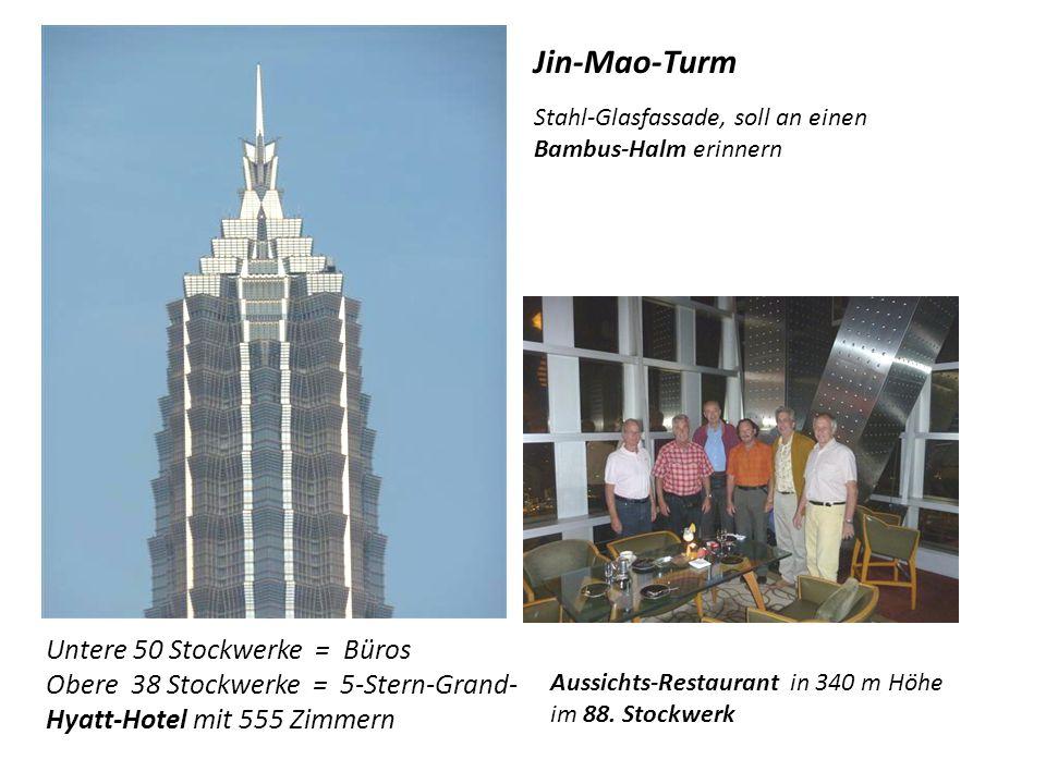 Jin-Mao-Turm Untere 50 Stockwerke = Büros