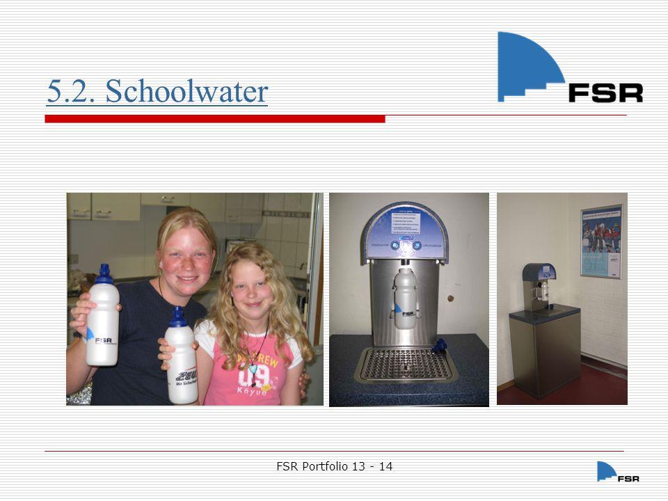 5.2. Schoolwater FSR Portfolio 13 - 14