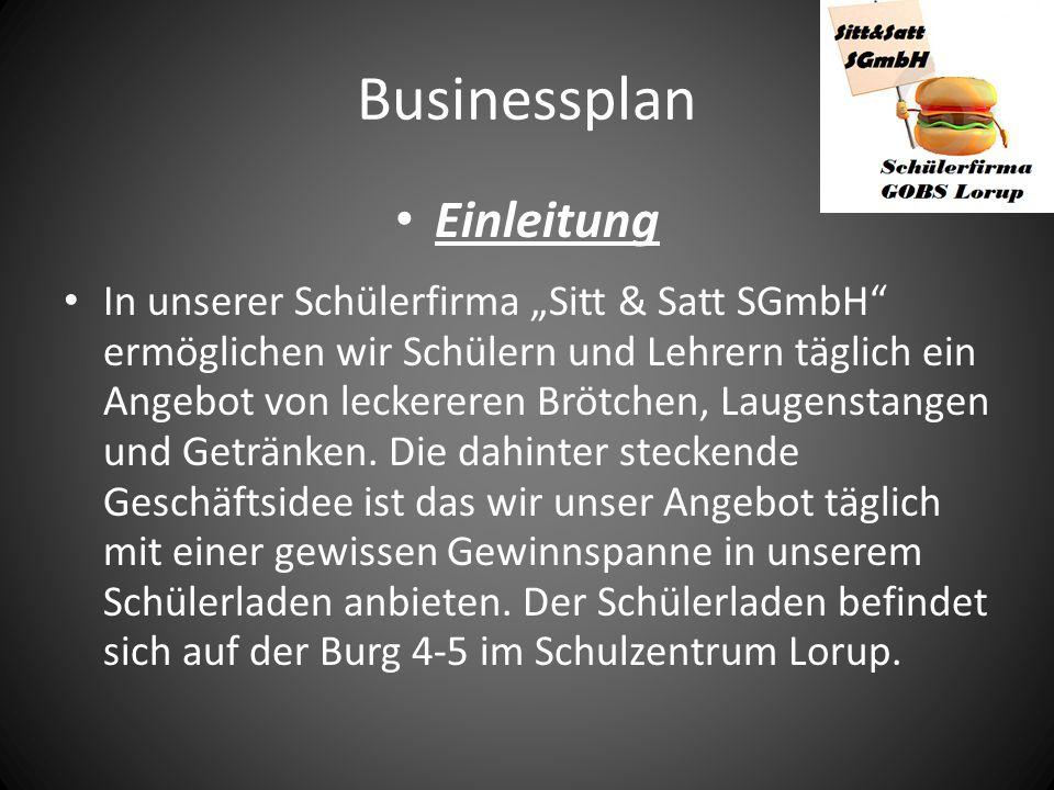 Businessplan Einleitung
