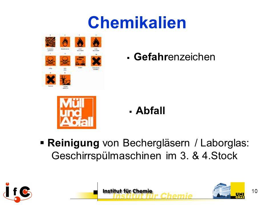 Chemikalien Gefahrenzeichen. Abfall.