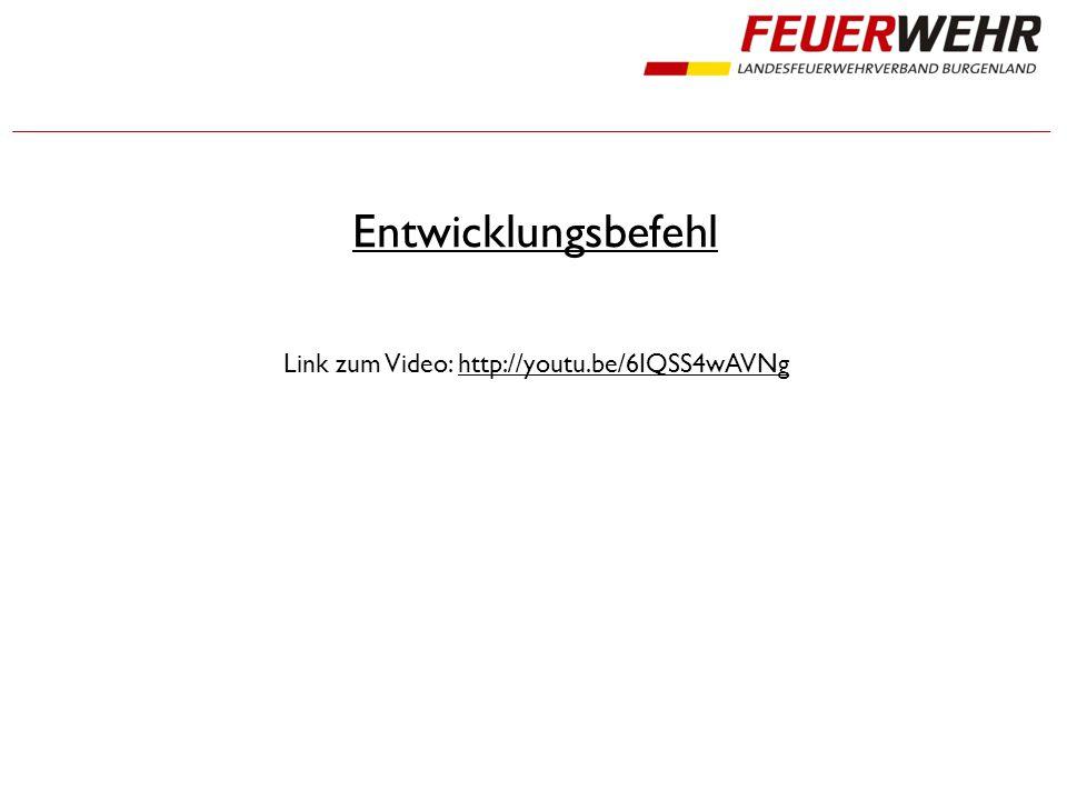 Entwicklungsbefehl Link zum Video: http://youtu.be/6IQSS4wAVNg