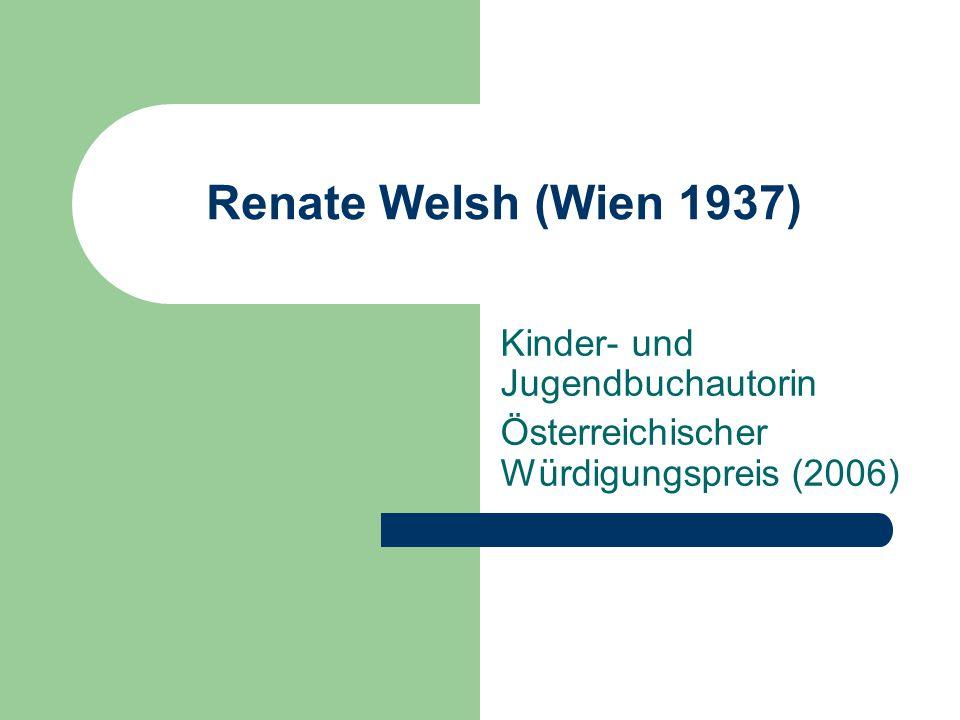 Kinder- und Jugendbuchautorin Österreichischer Würdigungspreis (2006)