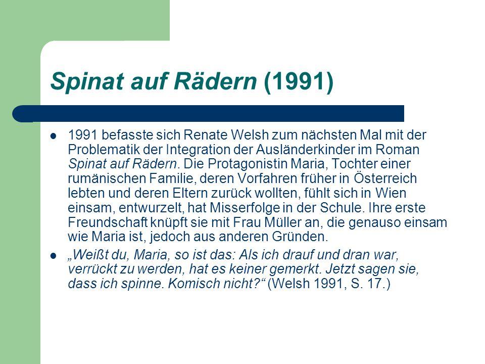 Spinat auf Rädern (1991)