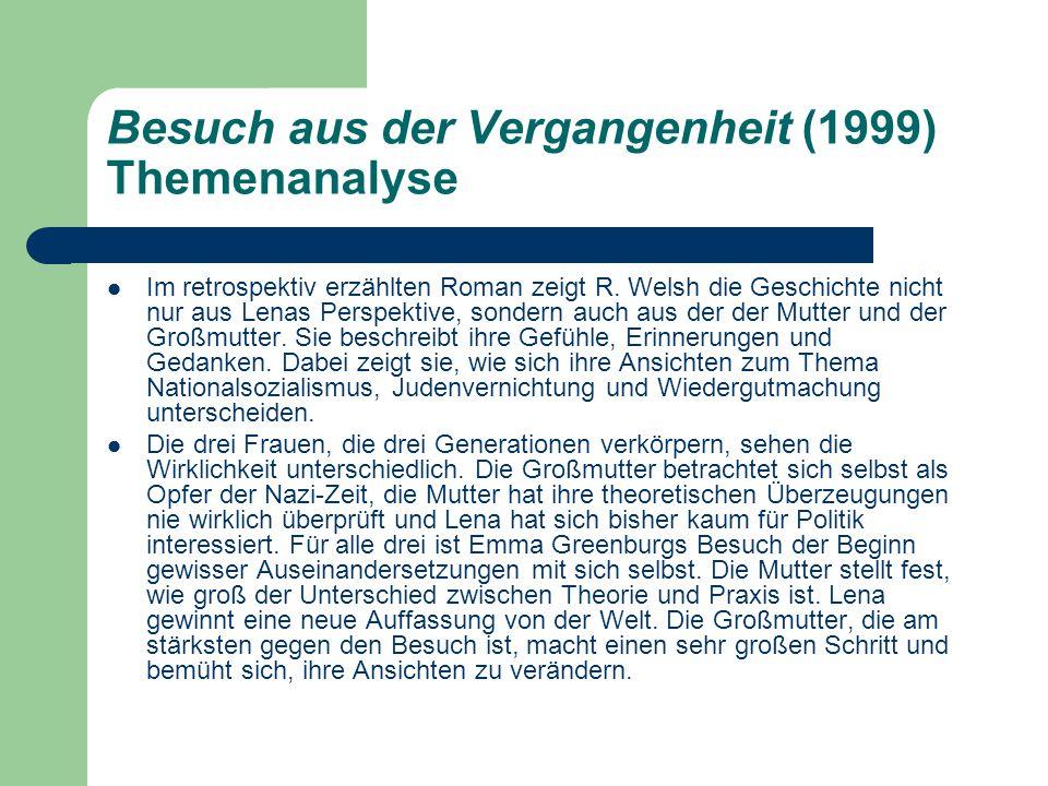 Besuch aus der Vergangenheit (1999) Themenanalyse