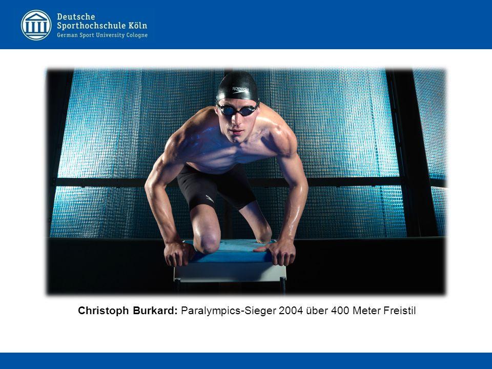 Christoph Burkard: Paralympics-Sieger 2004 über 400 Meter Freistil