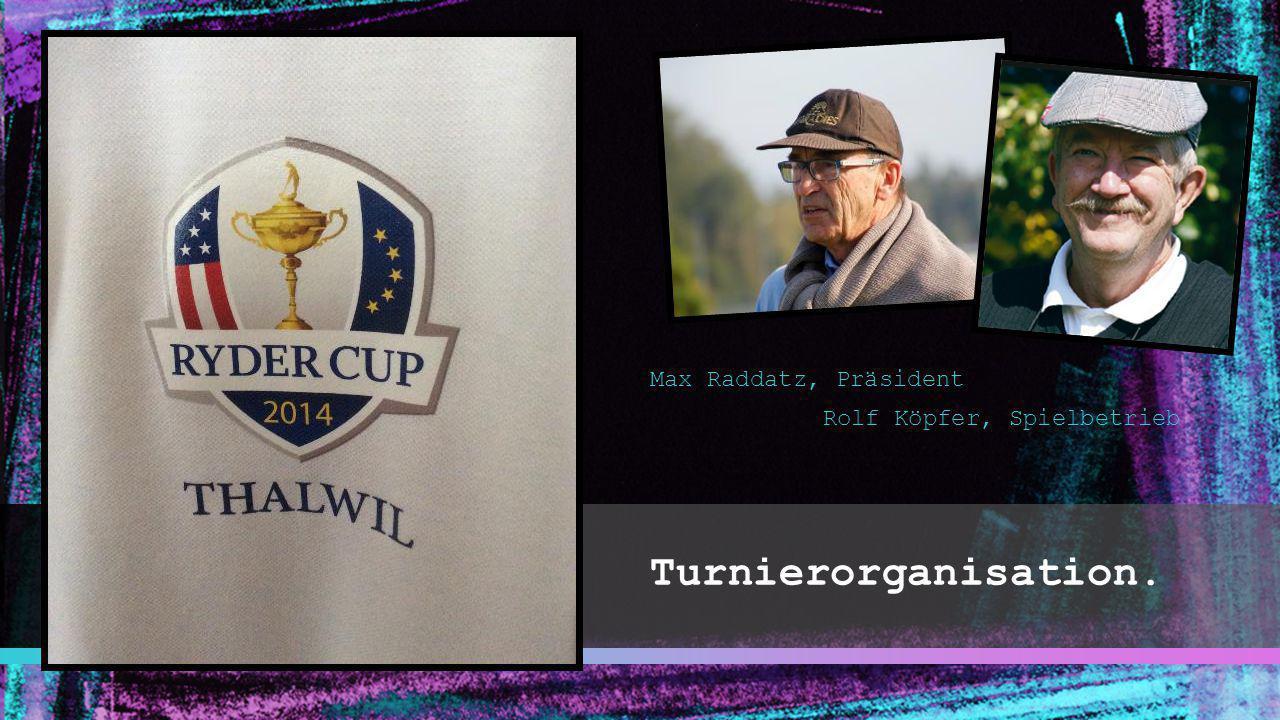 Max Raddatz, Präsident Rolf Köpfer, Spielbetrieb Turnierorganisation.