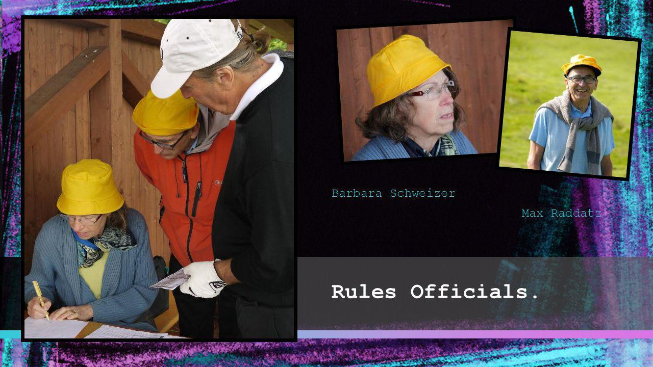 Barbara Schweizer Max Raddatz Rules Officials.