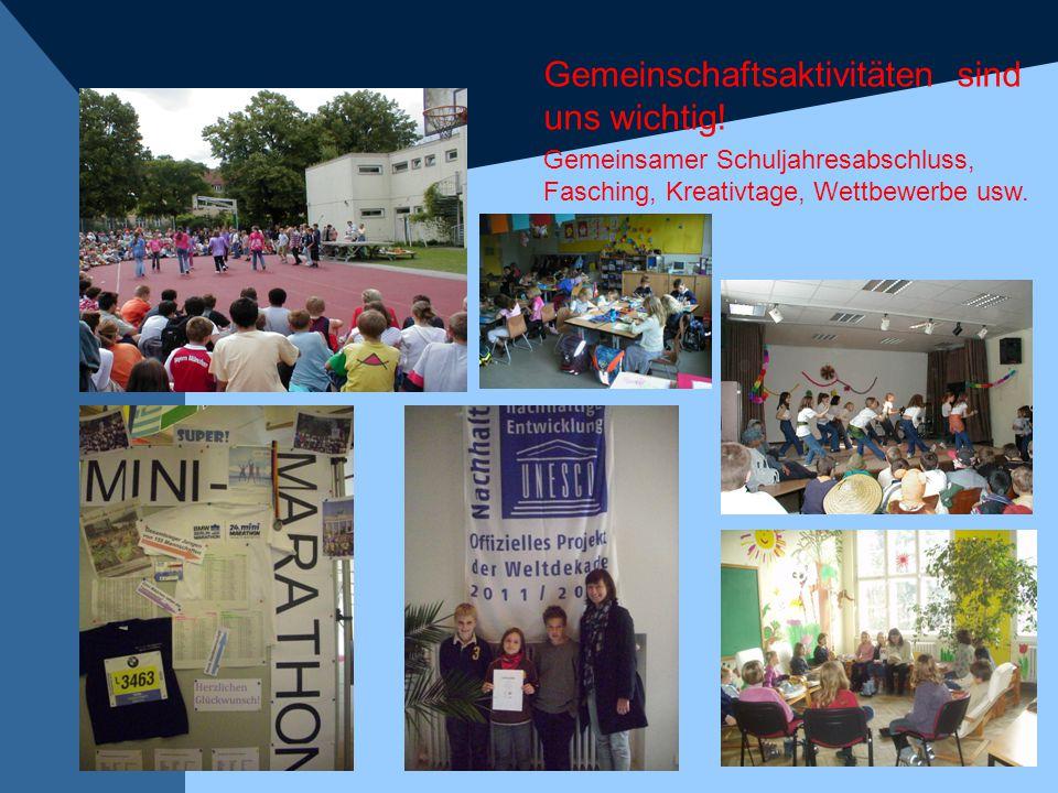 Gemeinschaftsaktivitäten sind uns wichtig!