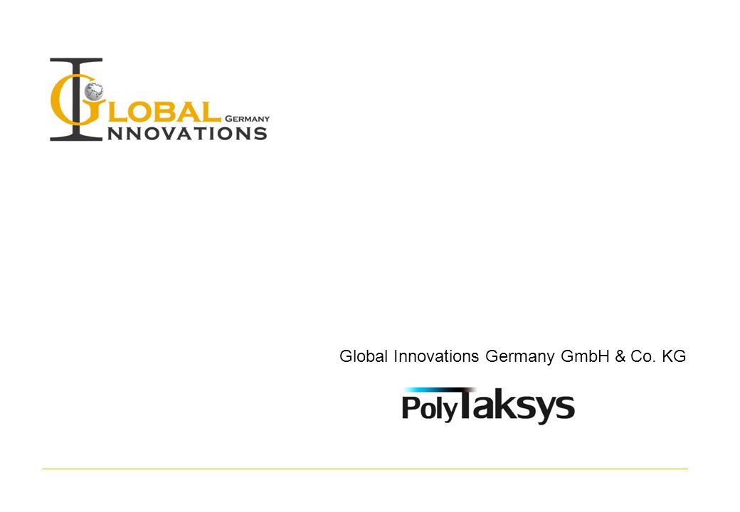 Global Innovations Germany GmbH & Co. KG