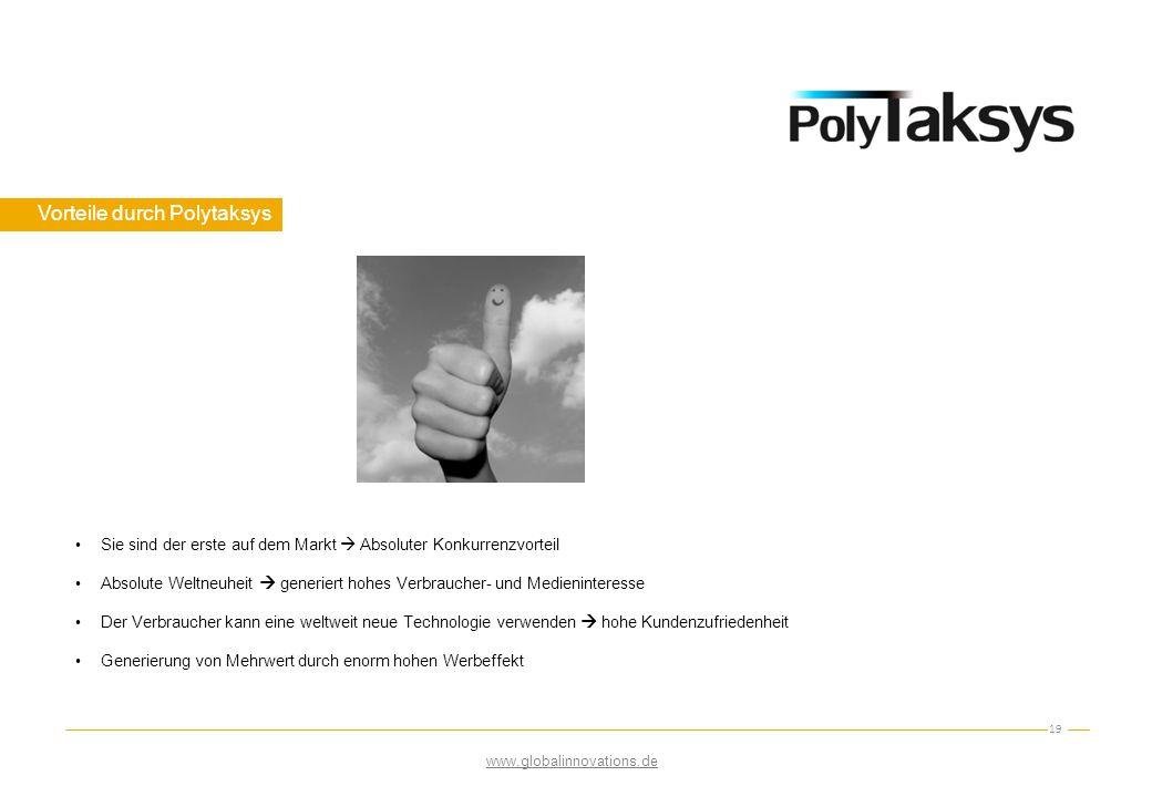 Vorteile durch Polytaksys