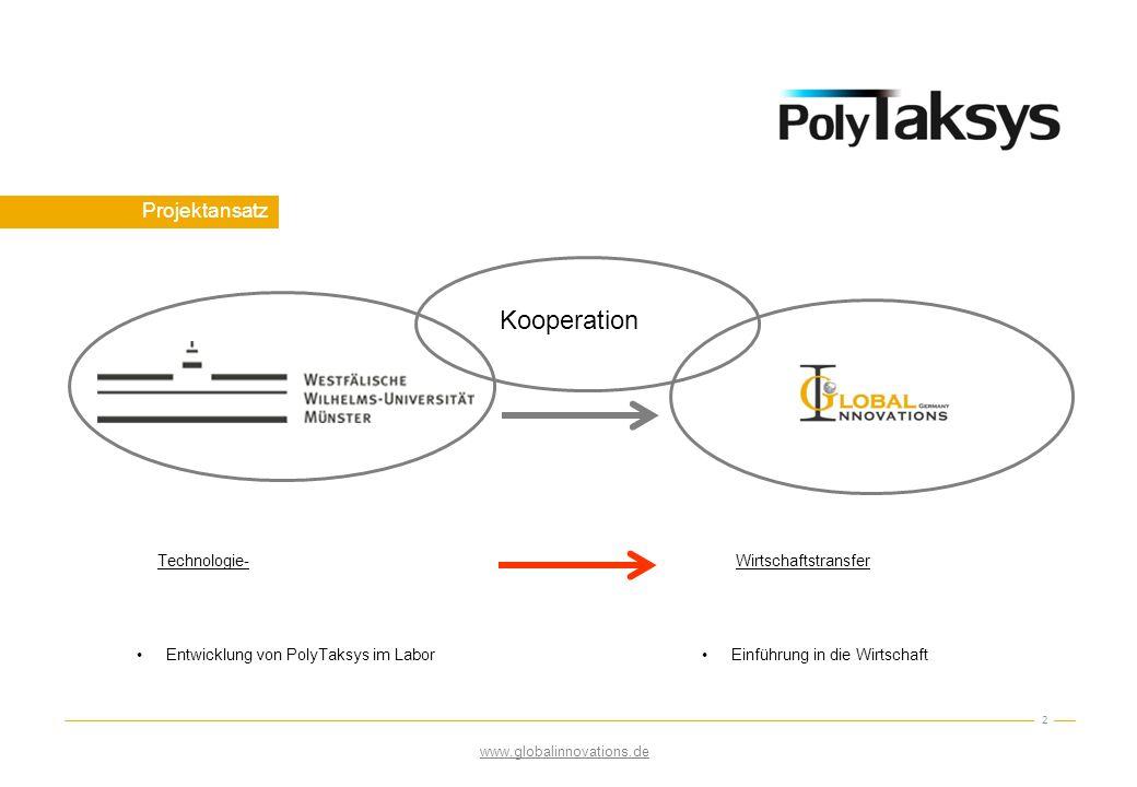 Kooperation Projektansatz Technologie- Wirtschaftstransfer