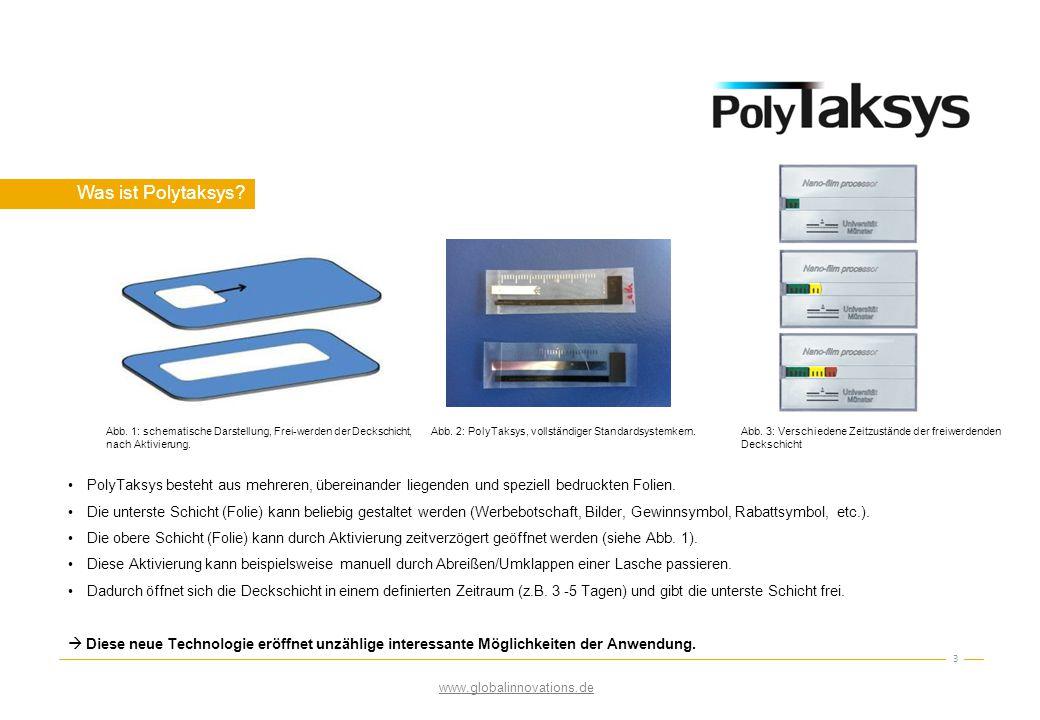 Was ist Polytaksys Abb. 1: schematische Darstellung, Frei-werden der Deckschicht, nach Aktivierung.