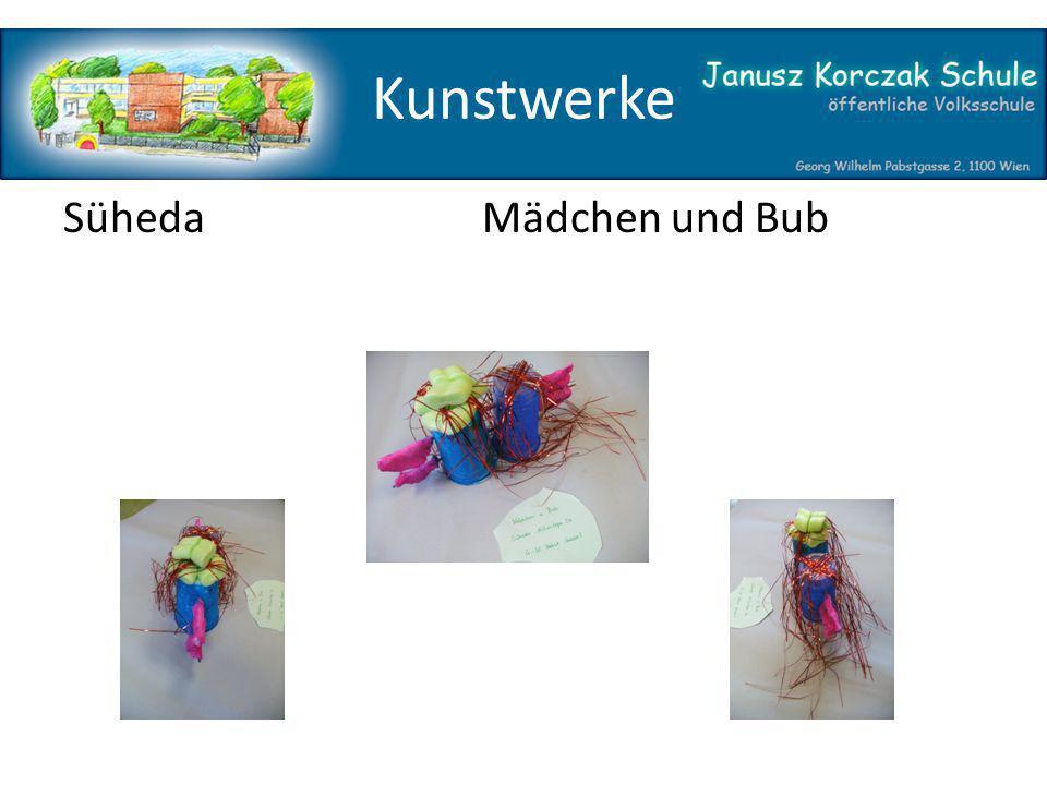 Kunstwerke Süheda Mädchen und Bub