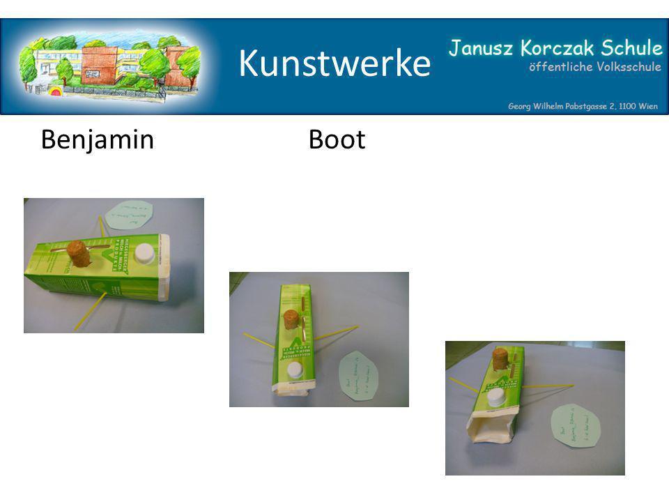 Kunstwerke Benjamin Boot