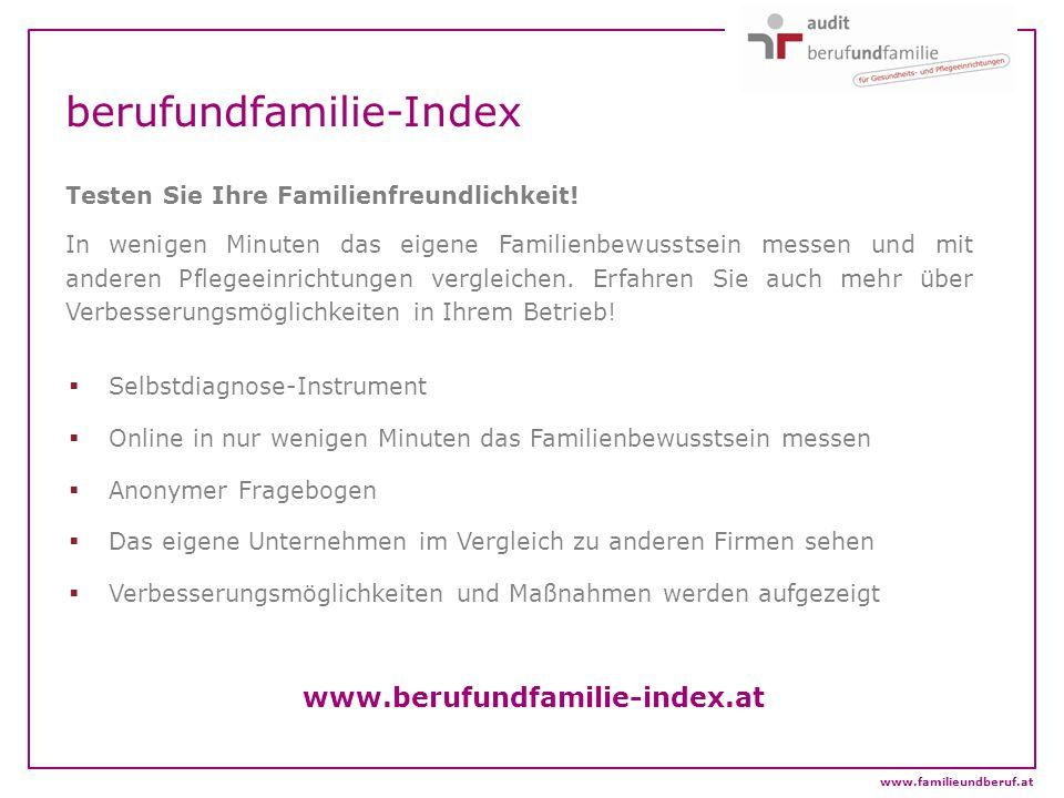 berufundfamilie-Index