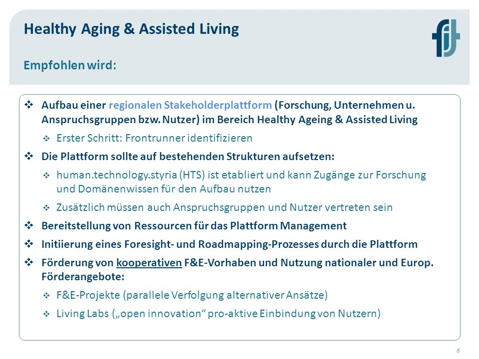 Healthy Aging & Assisted Living