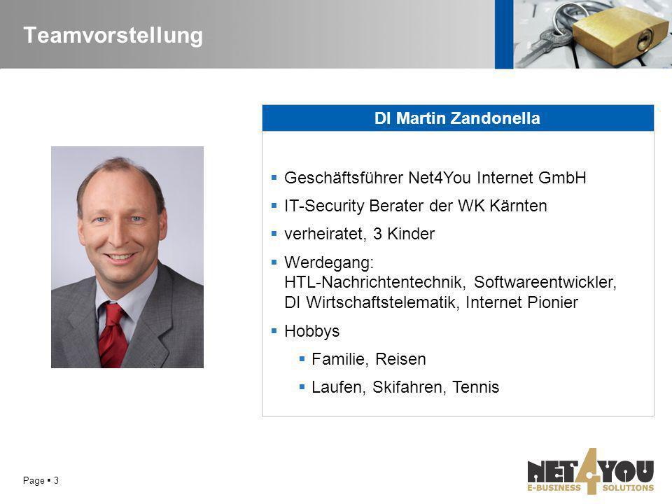 Teamvorstellung DI Martin Zandonella