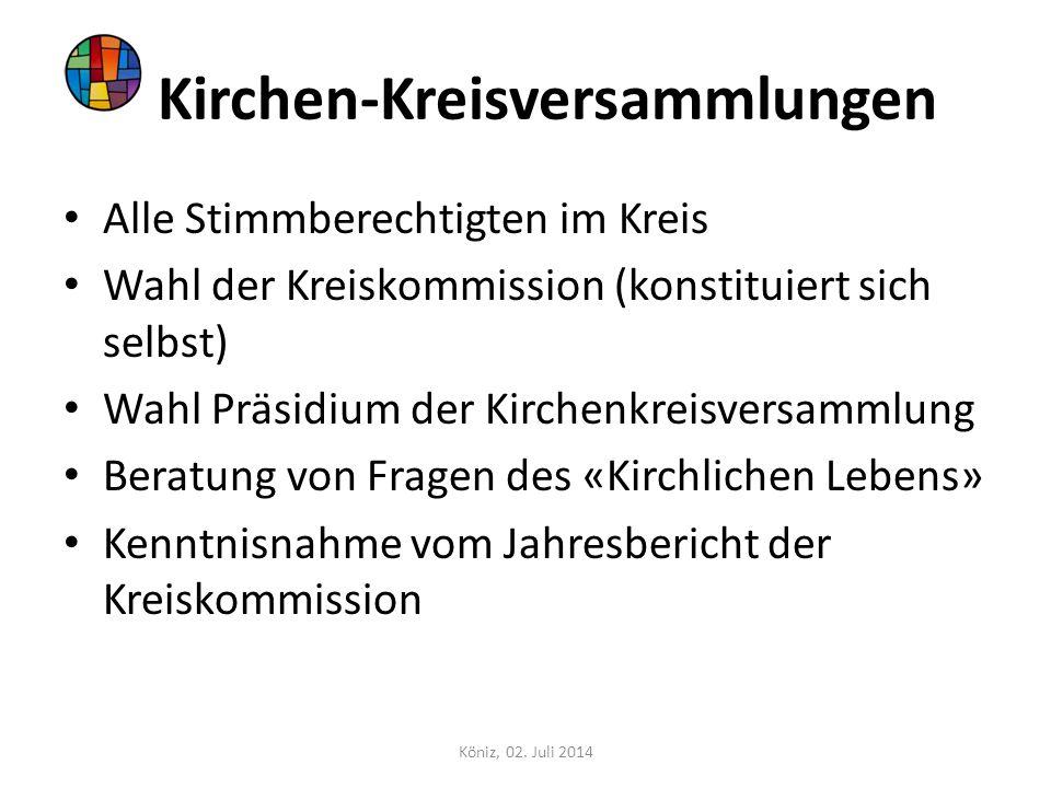 Kirchen-Kreisversammlungen