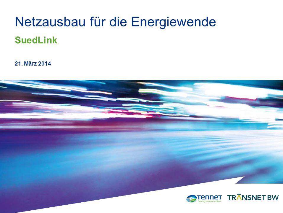 Netzausbau für die Energiewende