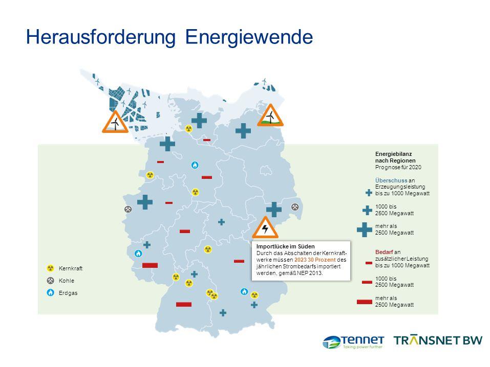 Herausforderung Energiewende