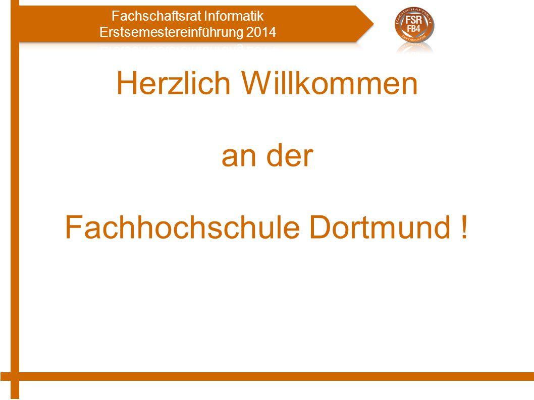 Herzlich Willkommen an der Fachhochschule Dortmund !