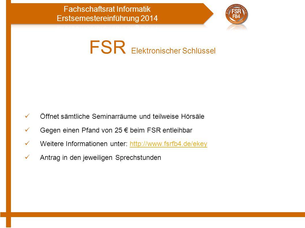 FSR Elektronischer Schlüssel