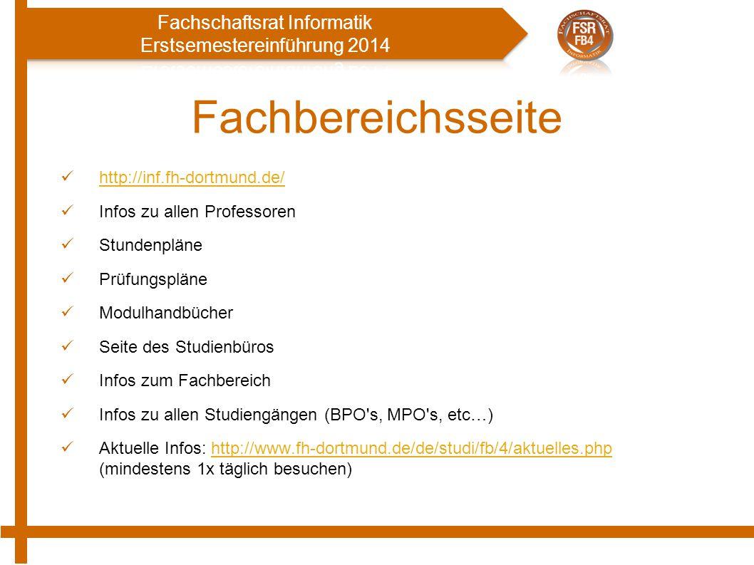Fachbereichsseite http://inf.fh-dortmund.de/