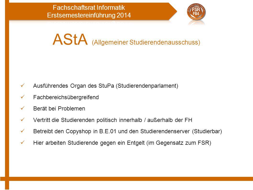 AStA (Allgemeiner Studierendenausschuss)