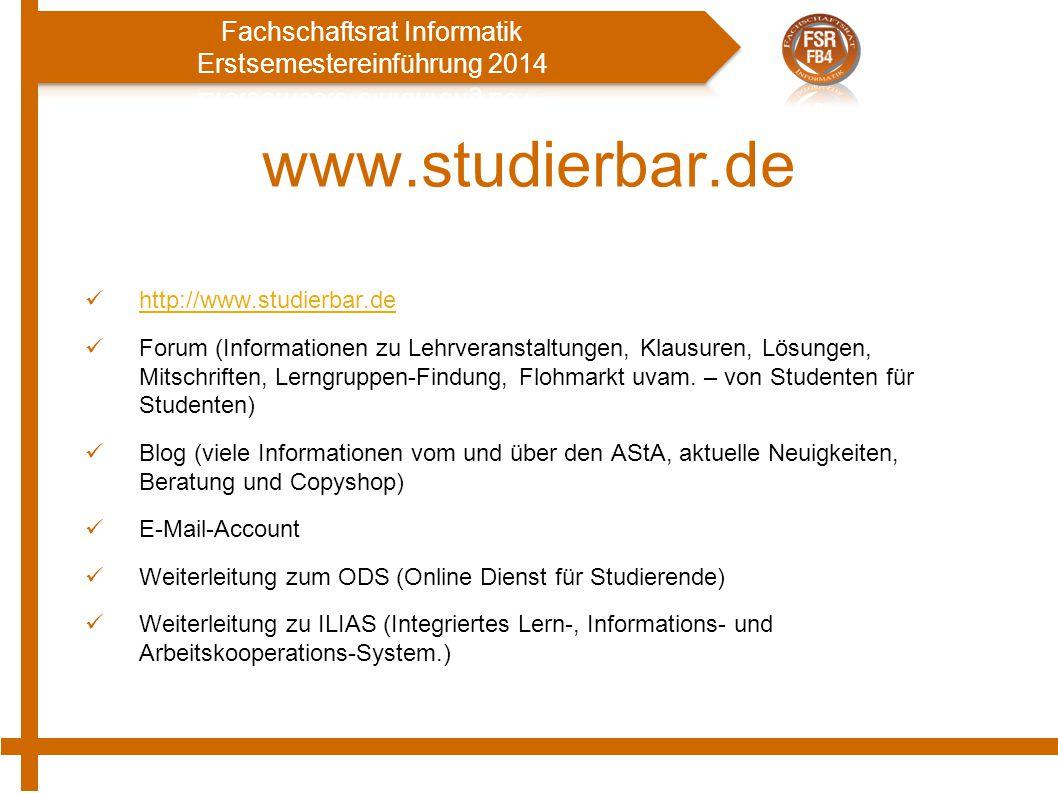 www.studierbar.de http://www.studierbar.de