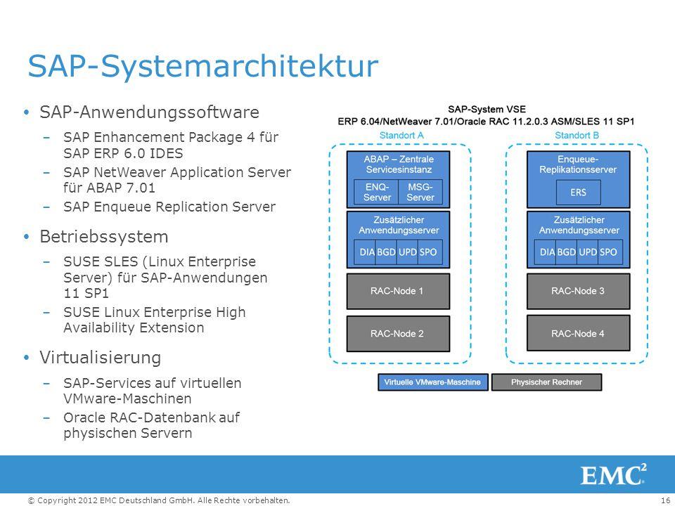 SAP-Systemarchitektur