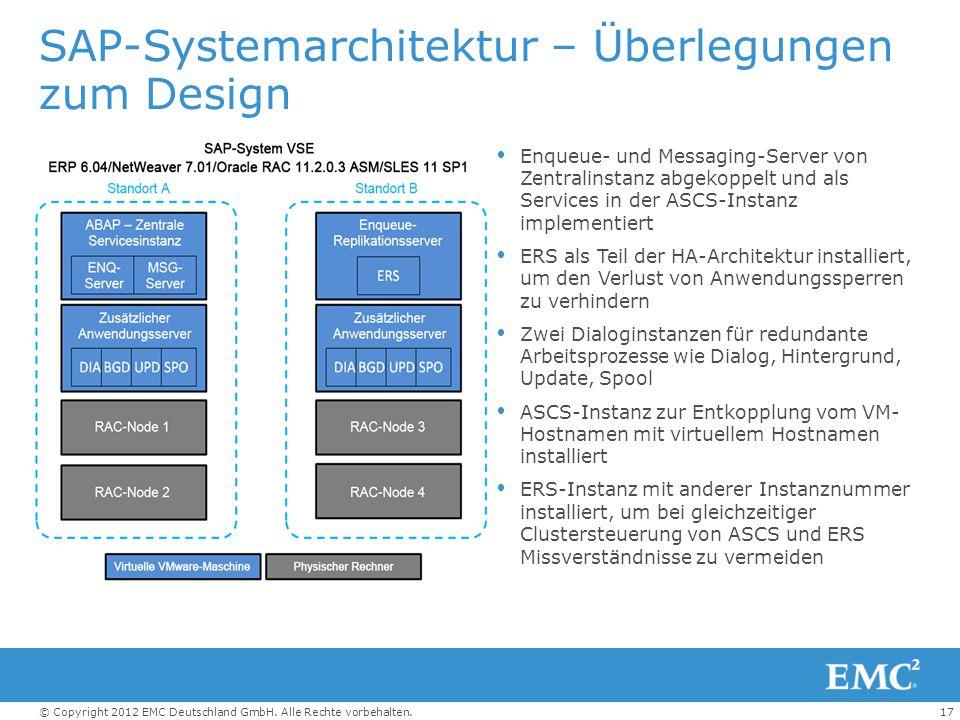 SAP-Systemarchitektur – Überlegungen zum Design