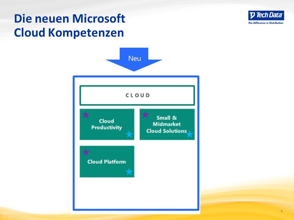 Die neuen Microsoft Cloud Kompetenzen