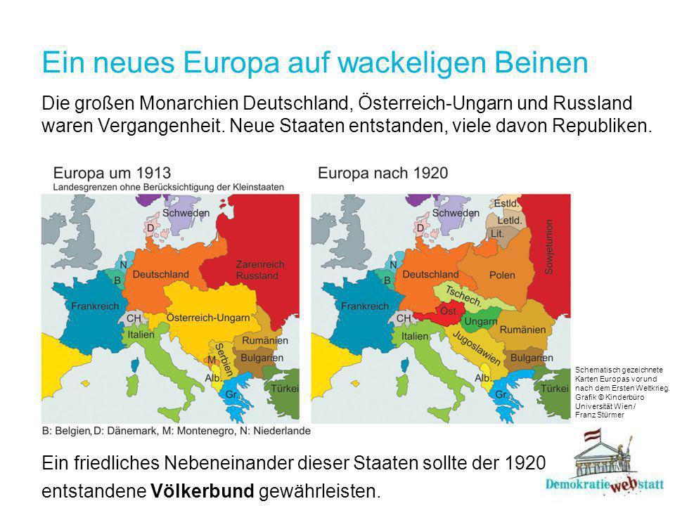 Ein neues Europa auf wackeligen Beinen