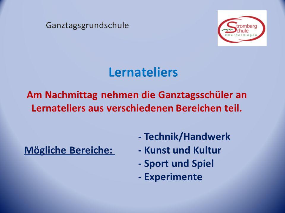 Lernateliers - Technik/Handwerk