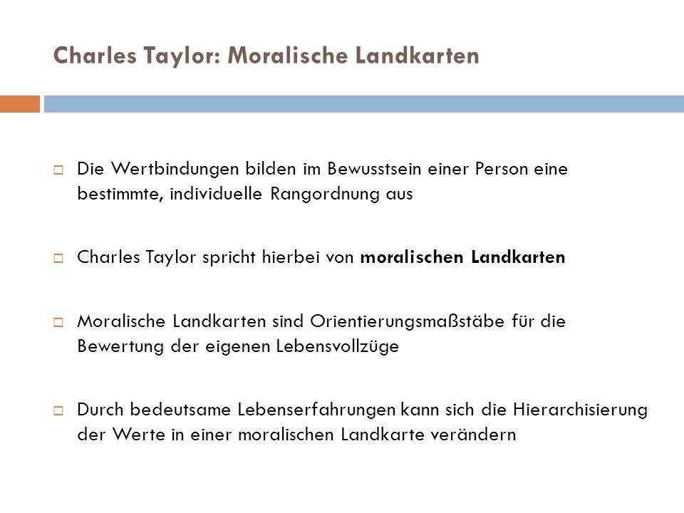 Charles Taylor: Moralische Landkarten