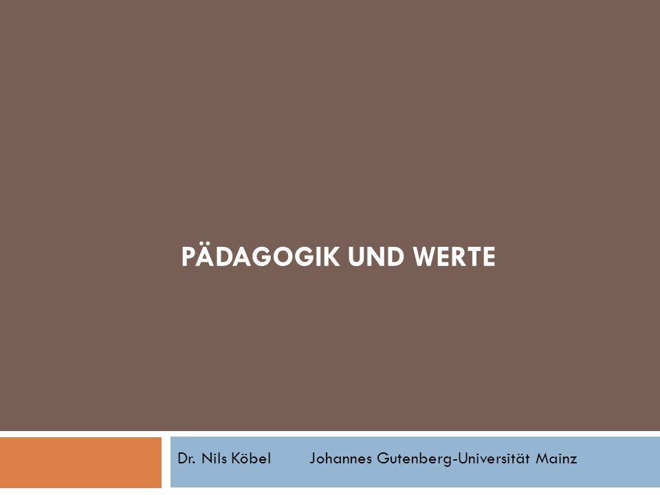 Dr. Nils Köbel Johannes Gutenberg-Universität Mainz