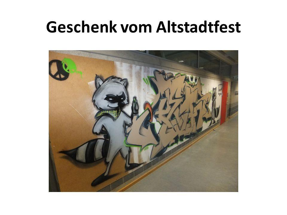Geschenk vom Altstadtfest