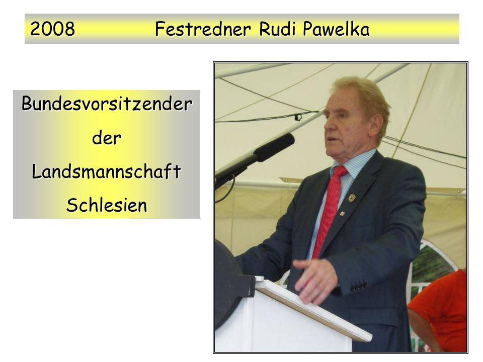 2008 Festredner Rudi Pawelka