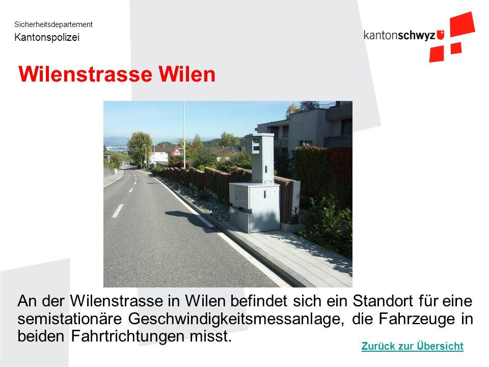 Wilenstrasse Wilen
