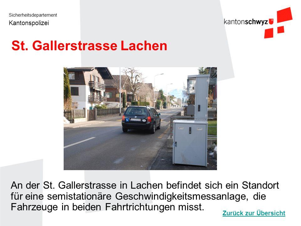 St. Gallerstrasse Lachen