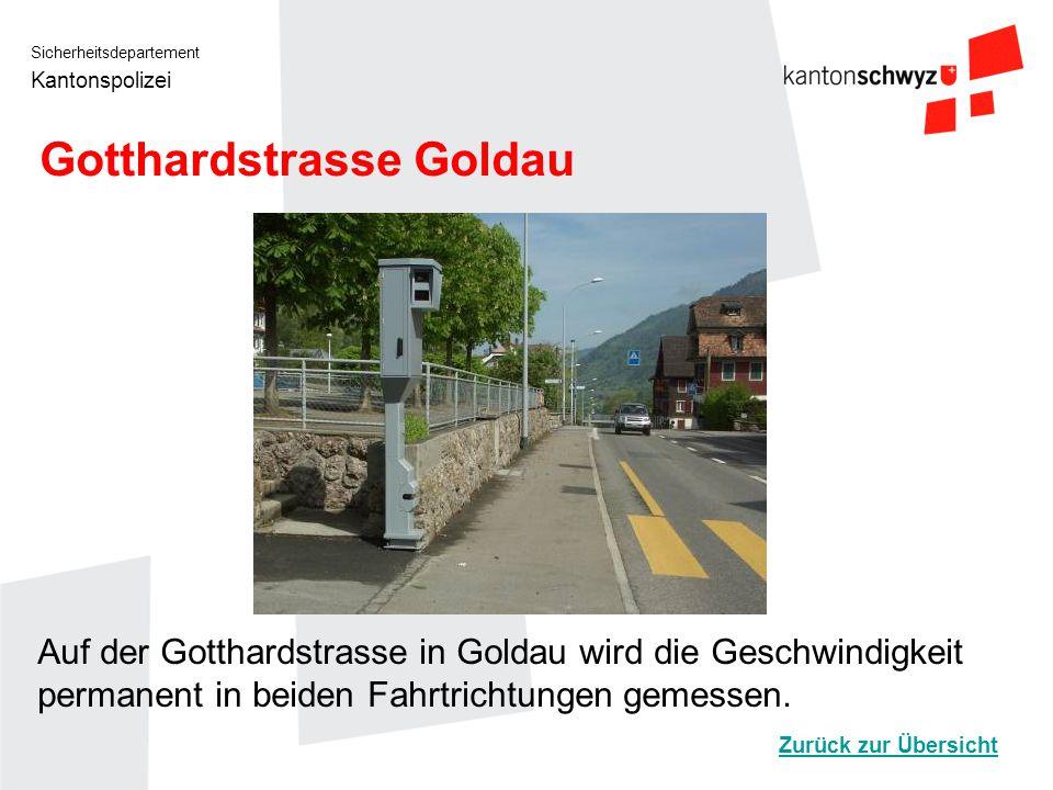 Gotthardstrasse Goldau