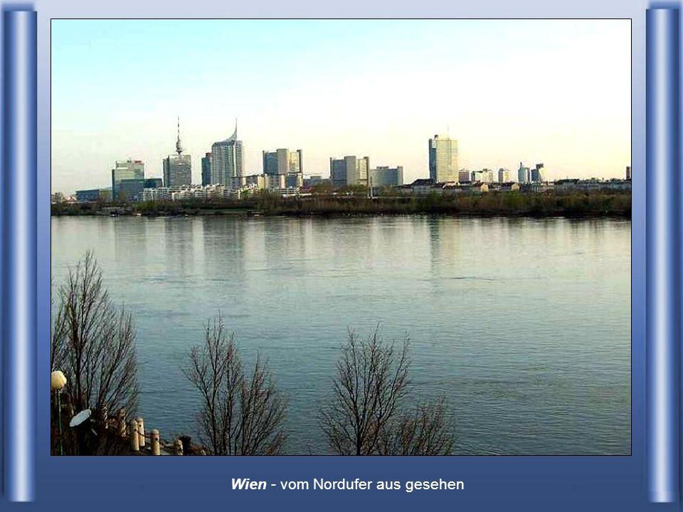 Wien - vom Nordufer aus gesehen