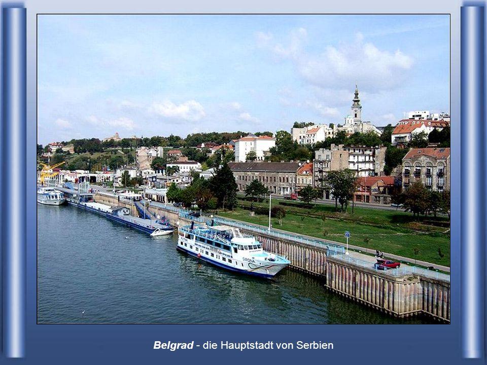 Belgrad - die Hauptstadt von Serbien