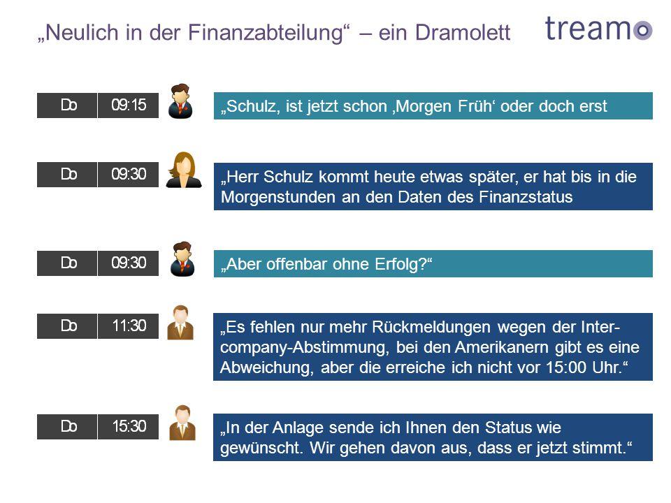 """""""Neulich in der Finanzabteilung – ein Dramolett"""
