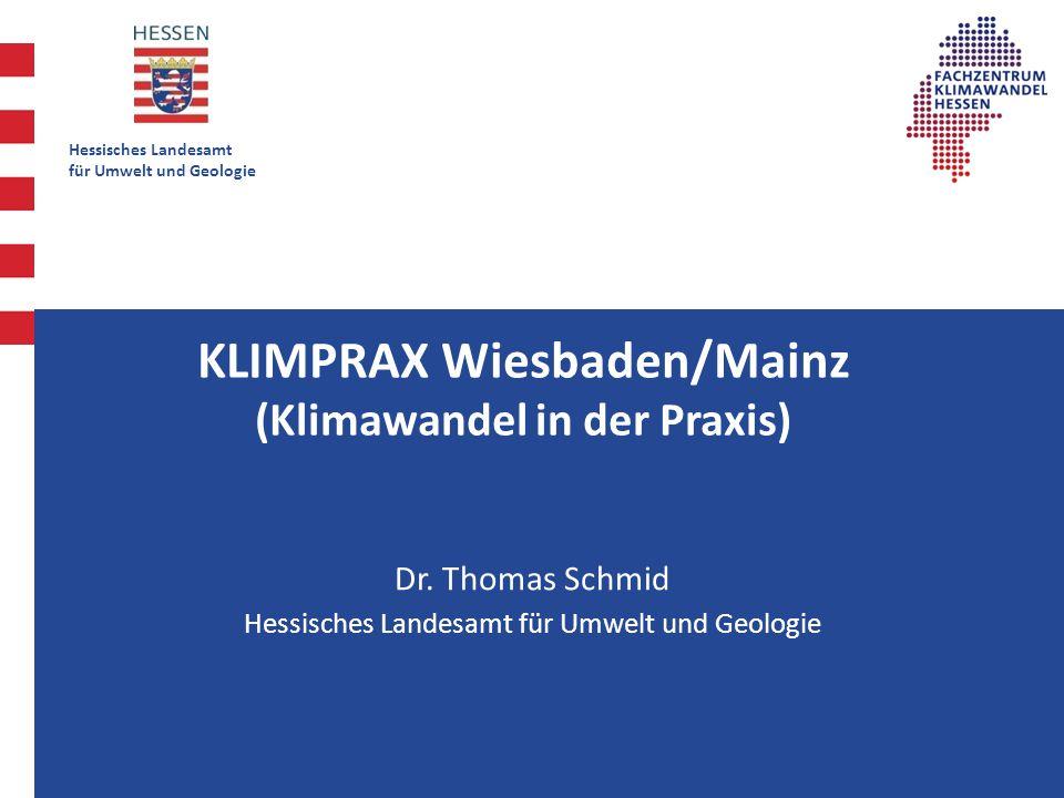 K KLIMPRAX Wiesbaden/Mainz (Klimawandel in der Praxis)